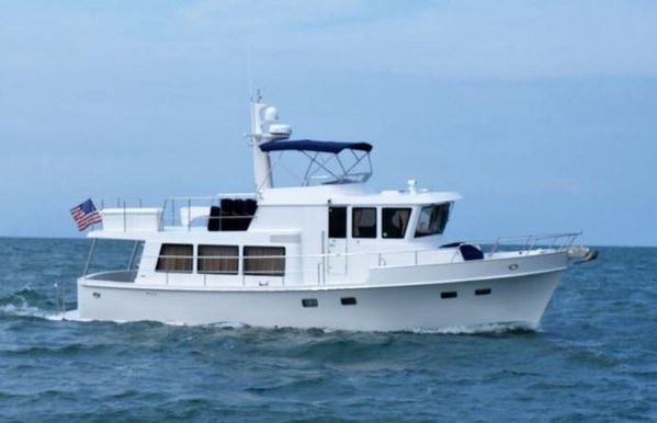 """Used Symbol """"45"""" Pilothouse Fast Trawler Motor Yacht For Sale"""