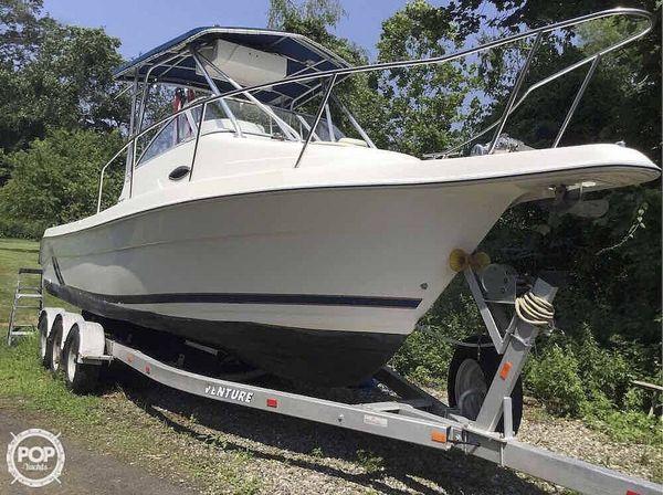 Used Cobia 260WA Walkaround Fishing Boat For Sale
