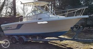 Used Pro-Line 25 SX Walkaround Fishing Boat For Sale