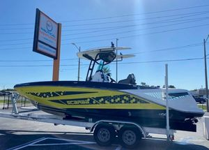 Used Scarab 255 Open ID Center Console Fishing Boat For Sale