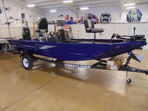 New Crestliner 1700 Ridge Freshwater Fishing Boat For Sale