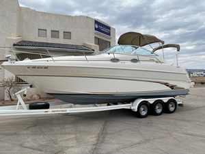 Used Sea Ray 270 Sundancer Special Edition Power Cruiser Boat For Sale