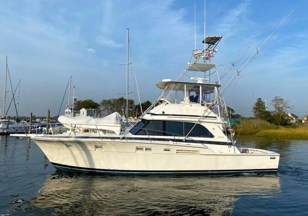 Used Bertram 46 Convertible Sports Fishing Boat For Sale