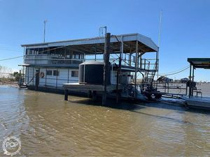 Used Custom 60' Houseboat House Boat For Sale