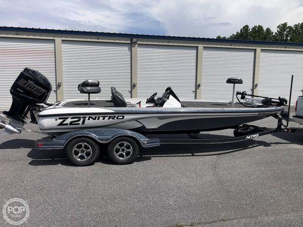 Used Nitro Z21 Bass Boat For Sale