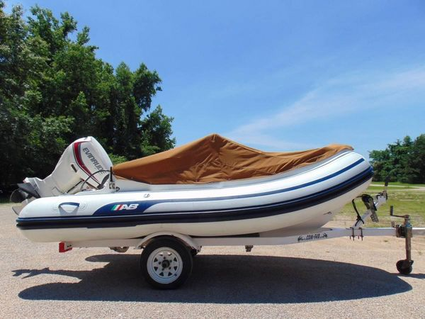 Used Ab Inflatables 12 DLX Inflatable Boat For Sale