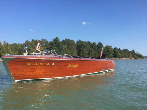 Used Hacker Craft 22 Utility Antique and Classic Boat For Sale