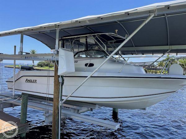 Used Angler 2400 WA Walkaround Fishing Boat For Sale