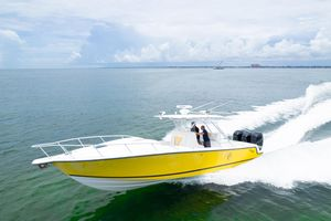 Used Seavee 34 Cuddy Center Console Fishing Boat For Sale