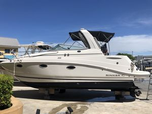 """Used Rinker """"28"""" 260 Express Cruiser Boat For Sale"""