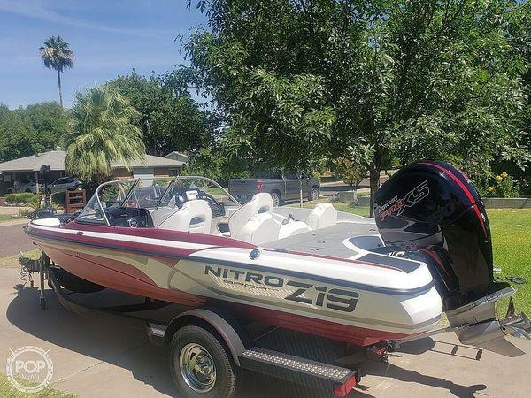 Used Nitro Z19 Sport Bass Boat For Sale