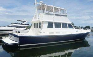 Used Little Harbor WhisperJet Flybridge Cruiser Downeast Fishing Boat For Sale