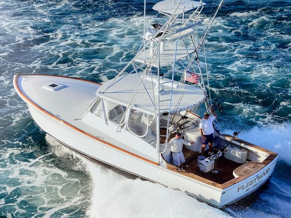 Used Custom Billy Knowles Express Sports Fishing Boat For Sale