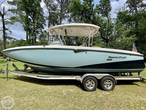Used Mastercraft CSX 265 SS Center Console Fishing Boat For Sale