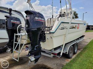 Used Sea Cat SL5 Power Catamaran Boat For Sale