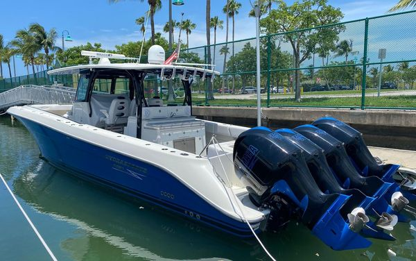 Used Hcb Hydra Sports Siesta 42 Center Console Fishing Boat For Sale