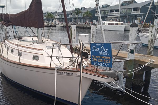 Used Island Packet 37 Cutter Sailboat For Sale