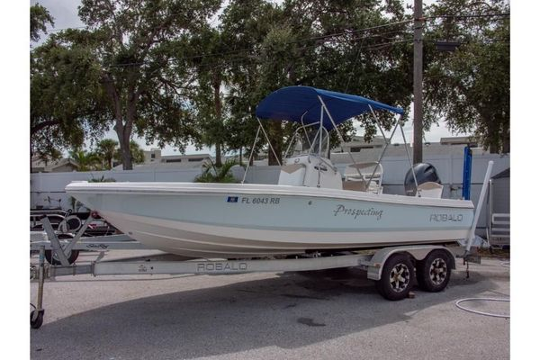 Used Robalo 206 Cayman Sports Fishing Boat For Sale