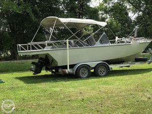 Used Custom Aluminum 21 Aluminum Fishing Boat For Sale