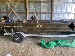 Used G3 Gator Tough 20 CC Jon Boat For Sale