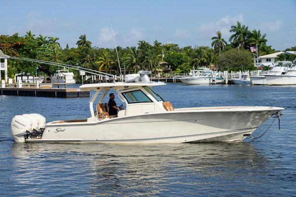 Used Scout 355 LXF Center Console Fishing Boat For Sale