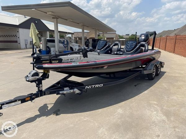Used Nitro Z-21 Pro Bass Boat For Sale