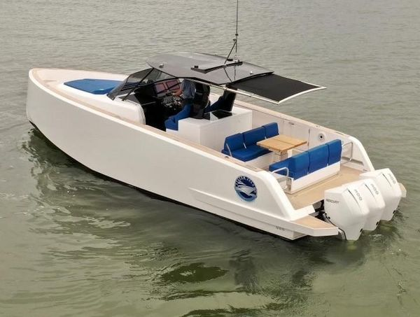 Used Pardo 38 Walkaround Center Console Fishing Boat For Sale
