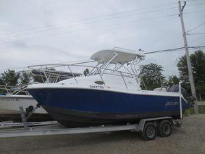 Used Polar 2300 Walkaround Saltwater Fishing Boat For Sale