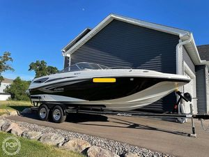 Used Hurricane SD217 Deck Boat For Sale