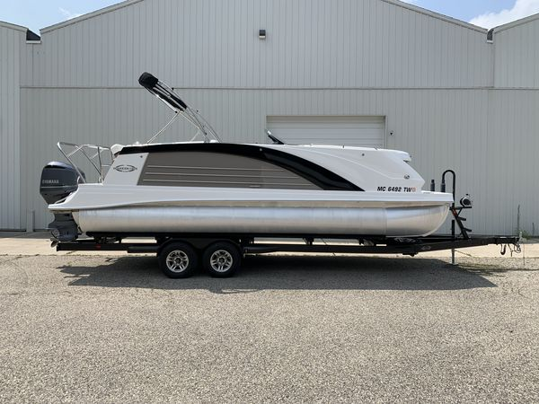 Used Marker One M25 Pontoon Boat For Sale
