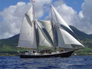Used Custom Brigantine Schooner Sailboat For Sale