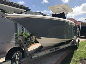Used Key West 244 BLUEWATER Center Console Fishing Boat For Sale