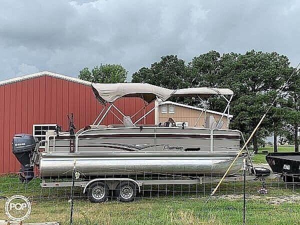 Used Premier Pontoons 221 explorer Pontoon Boat For Sale