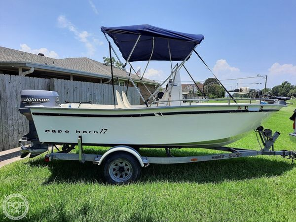 Used Cape Horn 17CC Center Console Fishing Boat For Sale
