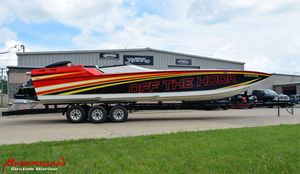 Used Ocean Express 33 Race/ Pleasure High Performance Boat For Sale