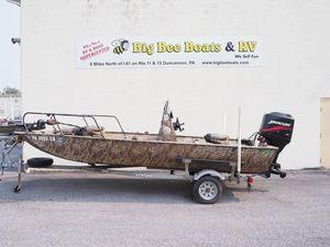 Used Crestliner Jon Mod-Vs 1860 Jon Boat For Sale