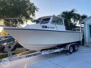 Used Parker Marine 2120 Walkaround Fishing Boat For Sale