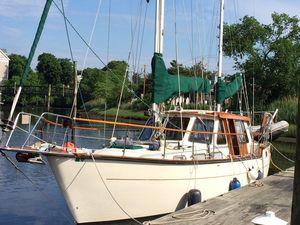 Used Nauticat 38 Motorsailer Boat For Sale
