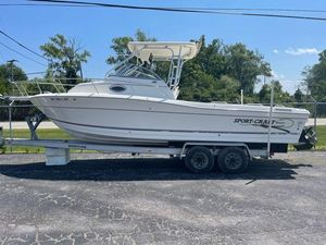 Used Sport-Craft 261 Walk Around Saltwater Fishing Boat For Sale