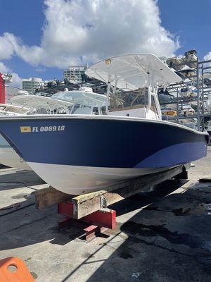 Used Seastrike SEA STRIKE 24cc Center Console Fishing Boat For Sale