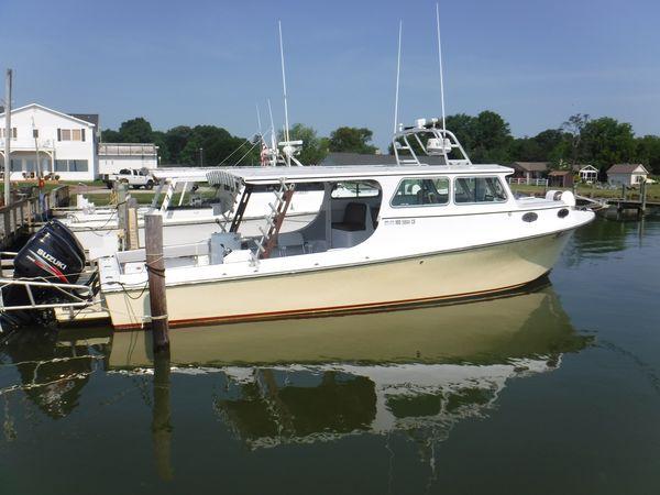Used Markley Kinnamon Build Chesapeake Deadrise Sports Fishing Boat For Sale