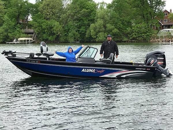 Used Alumacraft 205 COMPETITOR Aluminum Fishing Boat For Sale