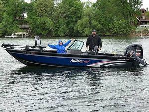 Used Alumacraft 205 Aluminum Fishing Boat For Sale