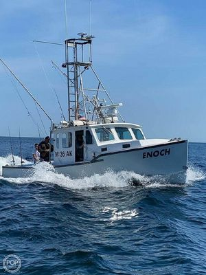 Used Down East 30 Lobster Fishing Boat For Sale