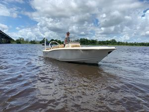 Used Scout 195 Sportfish Saltwater Fishing Boat For Sale