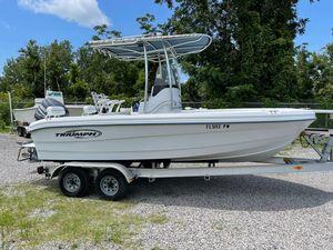 Used Triumph 195 CC Center Console Fishing Boat For Sale