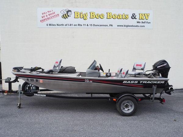 Used Tracker Pro 165 Freshwater Fishing Boat For Sale