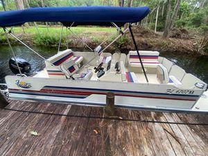 Used Fiesta 20' Family Fish N Fun Pontoon Boat For Sale