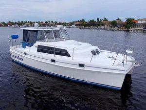 Used Endeavour 36 TrawlerCat Power Catamaran Boat For Sale