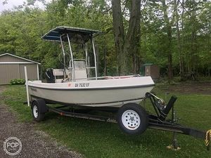 Used Angler 17 Center Console Fishing Boat For Sale